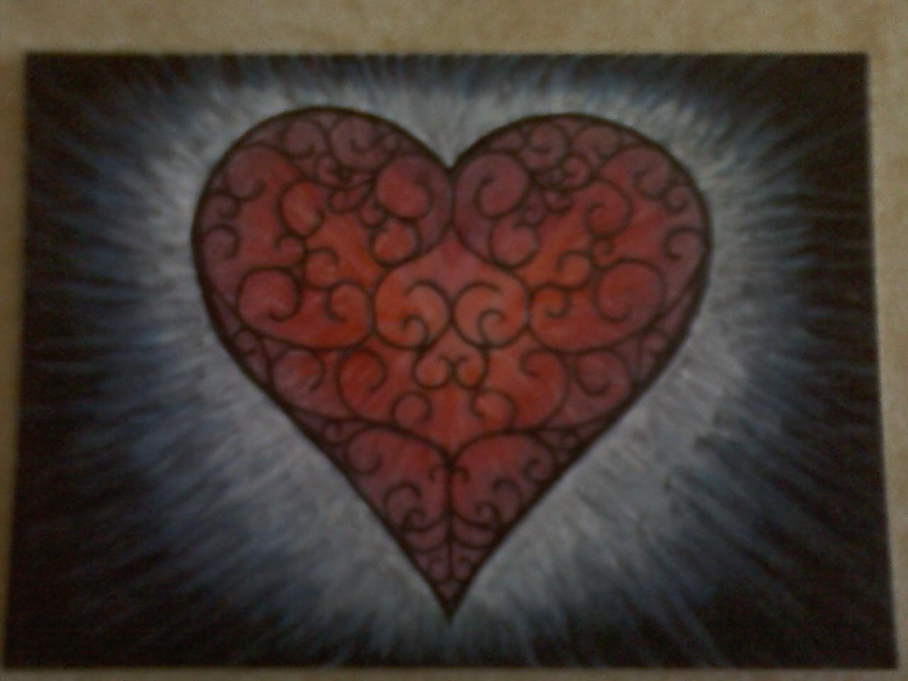 Filligree Heart #1